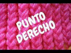 Punto Derecho en Telar Circular / Redondo http://www.comotelar.com