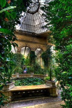Castle Ashby House Northampton - The Orangery in the Italian Gardens |