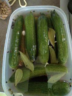 Συνταγή για αγγουράκι τουρσί Pickles, Cucumber, Food And Drink, Tips, Recipes, Projects, Food Recipes, Log Projects, Pickle