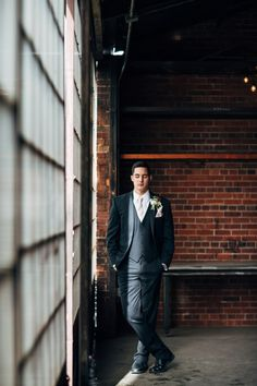 Industrial Chic Wedding Inspiration by From the Hip Photo - WeddingLovely Blog
