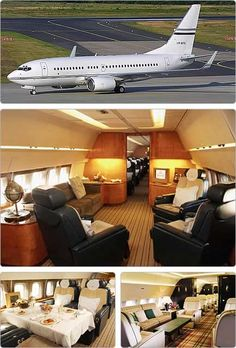 private 767 jets Business Jets A history of private Business Jets SHIRDI BABA help my future husband buy a nice good spacious safe private jet today om sai ram Luxury Jets, Luxury Private Jets, Private Plane, Boeing Business Jet, Private Jet Interior, Private Flights, Aircraft Interiors, Aircraft Design, Jet Plane