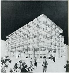 Peter Womersley. Architectural Review v.143 n.851 Jan 1968: 40   RNDRD