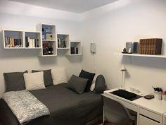 Small room design – Home Decor Interior Designs Room Design Bedroom, Bedroom Setup, Small Bedroom Designs, Small Room Design, Home Room Design, Room Ideas Bedroom, Small Room Bedroom, Small Rooms, Living Room Designs