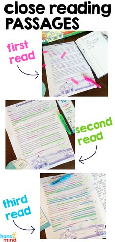 Use this close reading small group kit to help students analyze text at higher levels. The ten lesson plans include Close Reading Poster, Close Reading Lessons, Close Reading Strategies, Reading Posters, Reading College, Student Reading, Guided Reading, Reading Activities, Spelling Activities