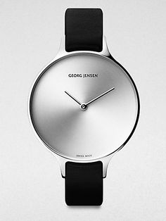 "Watch ""CONCAVE 315"" designed by the Swiss-born designer Nicolas Barth Nussbaumer for Georg Jensen, Denmark"