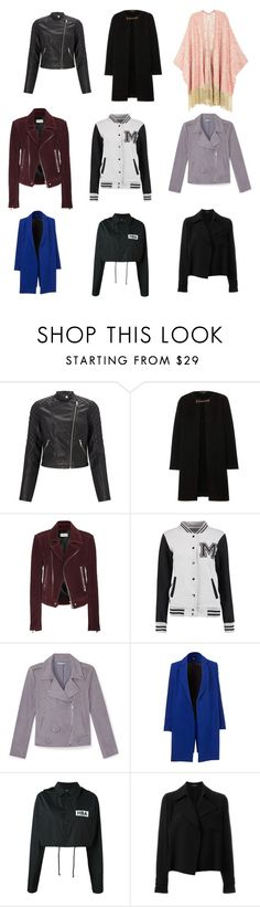 """""""jackets"""" by miss-perfiet on Polyvore featuring Lipsy, Burberry, Balenciaga, Rebecca Minkoff, Hood by Air, Theory, Melissa McCarthy Seven7 and plus size clothing"""
