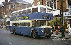 Southend Transport bus, High Street, Mar 1970