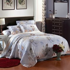 Leaf Pattern French Country Chic Bedding Sets