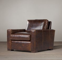 Petite Maxwell Leather Chair
