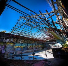 Abandoned Roller Skating Rink - Brisbane Australia