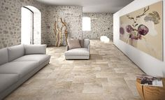 Looking for Quality Tiles In Dublin? Look no further than Italian Tile & Stone Studio where you will find the latest wall and floor tiles for kitchens & bathrooms. Flagstone Tile, Exterior Tiles, Limestone Flooring, Outdoor Tiles, Style Deco, Tuile, Wall And Floor Tiles, Wood Bathroom, Stone Houses