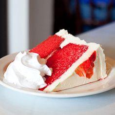 Red Velvet Cake. Last Resort Grill, Athens GA