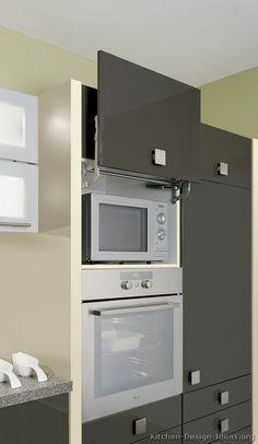 Kitchen Cabinet Microwave Shelf Ideas