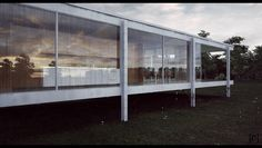 Farnsworth House Final 5 by the-f-render.deviantart.com on @deviantART