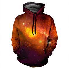 Fire Galaxy Hoodie