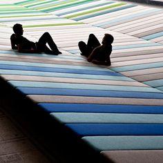 Textile Field by Ronan & Erwan Bouroullec