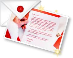 Letter santa clause father Christmas letters letter from santa