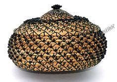 Always Pine Needle Basket Handmade