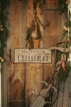 Prim Merry Christmas Welcome...