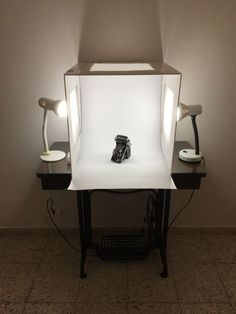 Amazing Foldable Homemade Light Box