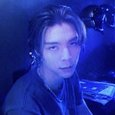 Blue Aesthetic, Kpop Aesthetic, Nct 127, Neo Grunge, Can I Please, I Really Love You, Cybergoth, I Icon, Boys Who