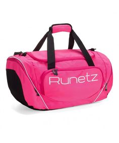 aa01ab4ab5 Duffle Pocket Travel compartment - Pink - CD11UH314KR. Runetz Athletic Gym  ...