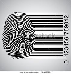 Fingerprint becoming barcode - #online_privacy