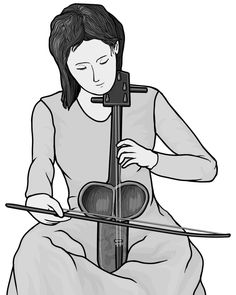 [ kobyz ] bowed string instrument