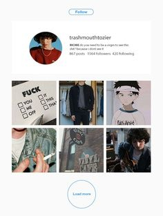 If trash mouth Richie had instagram part 4 Instagram Accounts To Follow, Aesthetic Wallpapers, You And I, Egg, Aesthetics, Ships, Club, Mood, Random