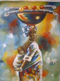 Image result for mother and child painting