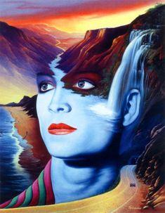 Surrealistic Fantasy Paintings by Jim Warren