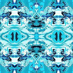 FAUX TOILE TURQUOISE BLUE Wallpaper