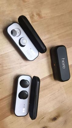 Here is an in-ear audio system that uses wireless earbuds and an app on your phone to control and personalize a live-audio environment