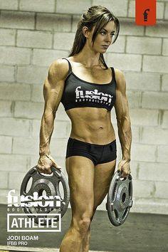 Female Fitness, Figure and Bodybuilder Competitors: Jodi Boam - IFBB Fitness Pro