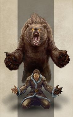 Werebear by razwit on DeviantArt