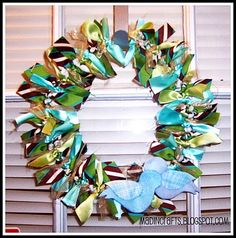 since I have very little flower arranging talent, this might actually be a wreath I could complete successfully!