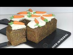 Pastel de Zanahorias - CARROT CAKE - Real Food - YouTube