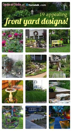 Add carb appeal to your home with these great front yard design ideas