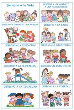 PREESCOLARES: Derechos y deberes de los niños