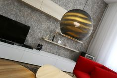 Presenting like a millefeuille of cardboard layers, with the same lightness, the same translucence, these cardboard lampshades create a pleasant indirect light above a table or in an entrance hall. Delivered without suspension cable, socket or bulb; Suspension Cable, Cardboard Furniture, Lampshades, Bean Bag Chair, Bulb, Interior, Lighting, Decoration, Design