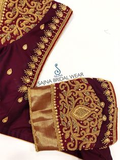 To get your outfit customized visit us at Chennai, Vadapalani or call/msg us at for appointments, online order and further details . Cutwork Blouse Designs, Kids Blouse Designs, Hand Work Blouse Design, Simple Blouse Designs, Stylish Blouse Design, Wedding Saree Blouse Designs, Traditional Blouse Designs, Designer Blouse Patterns, Zardosi Embroidery