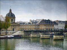 Institut de France et Le Pont des Arts
