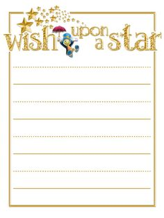 Wish Upon A Star A little 3x4inch journal card to brighten up your holiday scrapbook!