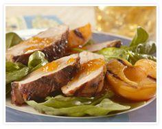 Asian Spiced Pork Tenderloins with Apricot Sauce Recipe  #EasterHam