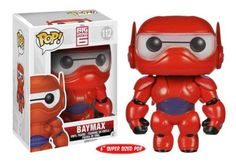 "Product Info It's Baymax from Disney's action-packed comedy-adventure ""Big Hero 6"". The plus-sized inflatable robot has been given the POP treatment! Check out all of Funko's ""Big Hero 6"" POP! Figures"