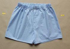 Freebook für eine weite Boxershorts/ Unterhose für Männer (nähen)