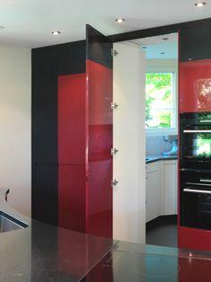 Ruepp Schreinerei AG • Sarmenstorf Top Freezer Refrigerator, Lockers, Locker Storage, Kitchen Appliances, Cabinet, Inspiration, Furniture, Home Decor, Living Room