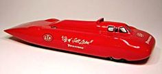 Mach One Models 1:43 Scale World Speed Record Scale Model Cars