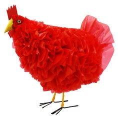 chicken made with recycled bags