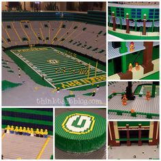 {Wordless Wednesday} Lambeau Field In Legos